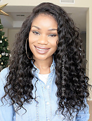 cheap -Dolago 360 Lace Frontal Wig Pre-plucked with Baby Hair 360 Human Hair Wigs For Black Women Loose Wave 150% 180% Density