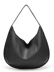 cheap -Women's Zipper PU Leather Tote Leather Bags Black / Purple / Brown