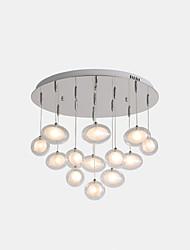 cheap -ZHISHU Sputnik Pendant Light Ambient Light Electroplated Metal Glass LED, New Design 110-120V / 220-240V Warm White / White