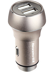 cheap -Newsmy Car Car Charger / Cigarette Lighter 2 USB Ports for 5 V
