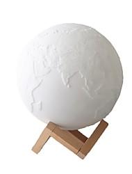 Недорогие -земля лампа дистанционного управления 16 цвет 13 см умные огни dqd3 1304 3d печать свет дома декоративные ночной свет для подарка