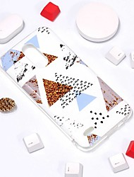 cheap -Phone Case For LG Back Cover LG V30 LG K10 2018 LG K10 (2017) LG G7 Pattern Marble Soft TPU