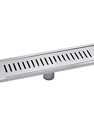 cheap -Drain Creative Contemporary Stainless Steel 1pc Floor Mounted