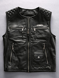 cheap -HARLEY ANGEL HA-88 Motorcycle Clothes Waistcoats for Men's Cowhide Spring &  Fall / Summer Normal / Wear-Resistant / Breathable
