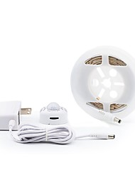 cheap -BRELONG® 2m String Lights 120 LEDs 2835 SMD Warm White / White Waterproof / Self-adhesive 110-120 V 1pc