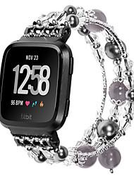 Недорогие -ремешок для часов для fitbit versa fitbit ювелирный дизайн керамический браслет