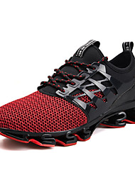 cheap -Men's Comfort Shoes PU Spring / Fall Sporty / Casual Athletic Shoes Running Shoes Breathable Black / Green / Red