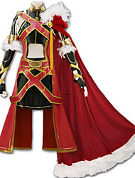 cheap -Inspired by Fate / Grand Order FGO Alexander Iskandar Anime Cosplay Costumes Japanese Cosplay Suits Art Deco Novelty Skirt Corset Cloak For Unisex / More Accessories / More Accessories