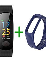 Недорогие -KUPENG B18Plus Женский Умный браслет Android iOS Bluetooth Спорт Водонепроницаемый Пульсомер Измерение кровяного давления Сенсорный экран / Датчик для отслеживания активности / Найти мое устройство