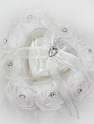 cheap -Rhinestone / Floral Lace Ring Pillow Heart All Seasons