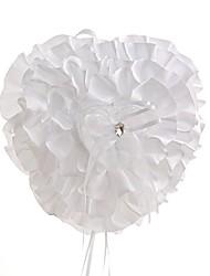 cheap -Fabrics Satin Ring Pillow Beach Theme / Garden Theme / Classic Theme All Seasons