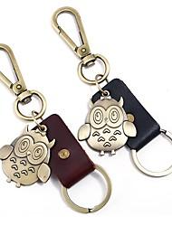 cheap -Classic Theme / Owl / Creative Keychain Favors Chrome / Calf Hair Keychains - 1 pcs All Seasons