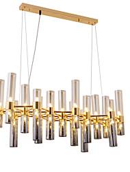 abordables -ZHISHU Spoutnik Lustre Lumière d'ambiance Plaqué Métal Verre Design nouveau 110-120V / 220-240V