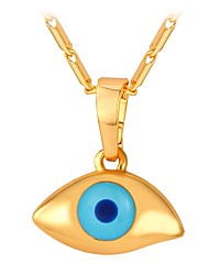 cheap -Women's Pendant Necklace Chunky Eyes Ladies Fashion Cute Copper Gold Silver 55 cm Necklace Jewelry 1pc For Gift Daily