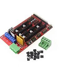 cheap -RAMPS 1.4 Control Panel 3D Printer Control Board Reprap Control Board Support Arduino Mega 2560