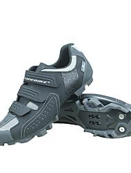 Недорогие -SIDEBIKE Взрослые Обувь для горного велосипеда Дышащий Противозаносный Амортизация Велосипедный спорт / Велоспорт Для велоспорта Серый Муж. Обувь для велоспорта / Вентиляция / Вентиляция / Липучка