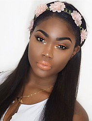 cheap -Dolago Straight Lace Front Human Hair Wigs Pre Plucked With Baby Hair Glueless Lace Front Wigs Bleached Knots Brazilian Remy Hair