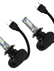 Недорогие -otolampara 1 пара h7 лампочки 110 Вт початка 9200 лм светодиодные фары для nissan sylphy все годы