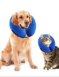cheap -Dog Cat Health Care Portable Cute and Cuddly Casual Safety Solid Colored Plush Fabric Plush Husky Labrador Alaskan Malamute Golden Retriever Dalmatian Border Collie Blue