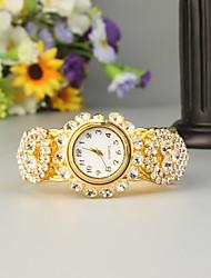 cheap -FEIS Women's Ladies Bracelet Watch Quartz Gold Chronograph Analog - Digital Fashion - Golden