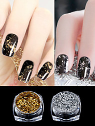 cheap -1 pcs Glossy / Eco-friendly / Color-Changing Glitter Glitter Powder Loose powder For Finger Nail Novelty nail art Manicure Pedicure Daily / Masquerade / Thanksgiving Artistic / Fashion