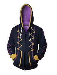 cheap -Inspired by Fire Emblem Cosplay Anime Cosplay Costumes Japanese Cosplay Hoodies Print Patchwork Special Design Hoodie For Unisex