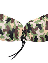 cheap -Women's Normal Sexy 5/8 cup Bras Adhesive Bra - Solid Colored