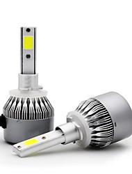 cheap -OTOLAMPARA 2pcs H10 / D1S / C / D2S / C Car Light Bulbs 36 W COB 3800 lm 2 LED Headlamp For Volkswagen / Toyota / Honda Santa / Fit / Fiesta 2018 / 2016 / 2017
