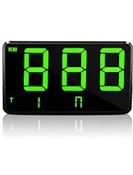 Недорогие -Ziqiao C80 Универсальный автомобиль и мотоцикл HUD Head-Display дисплей GPS спидометр лобовое стекло Цифровой проектор скорости Сигнализация превышения скорости