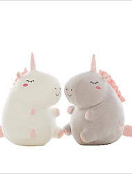 cheap -1 pcs Stuffed Animal Plush Toys Plush Dolls Stuffed Animal Plush Toy Unicorn Family Unicorn Horse Adorable Parent-Child Interaction Flannel Imaginative Play, Stocking, Great Birthday Gifts Party