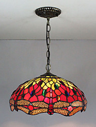 cheap -Pendant Light Ambient Light Painted Finishes Glass Glass Multi-shade, Creative 110-120V / 220-240V