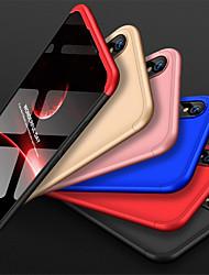 Недорогие -Кейс для Назначение Huawei Huawei Nova 3i Защита от удара / Матовое Кейс на заднюю панель Однотонный Твердый ПК
