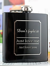 cheap -Personalized Stainless Steel Barware & Flasks Groom / Groomsman / Friends Wedding / Birthday