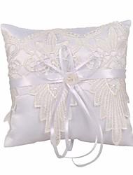 cheap -Fabrics Ruffle Polyester Ring Pillow Beach Theme / Garden Theme / Classic Theme All Seasons