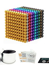 cheap -1000 pcs 3mm 5mm Magnet Toy Magnetic Balls Magnet Toy Building Blocks Super Strong Rare-Earth Magnets Neodymium Magnet Magnetic Stress and Anxiety Relief Office Desk Toys Relieves ADD, ADHD, Anxiety