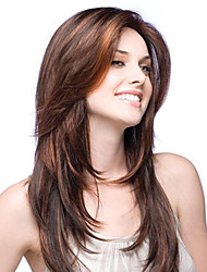 cheap -premierwigs 8a 8-26inch layered straight brazilian virgin glueless full lace human hair wigs glueless lace front wigs