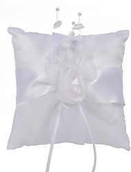 cheap -Poly / Cotton Blend / Fabrics Ribbons Polyester Ring Pillow Beach Theme / Garden Theme / Classic Theme All Seasons