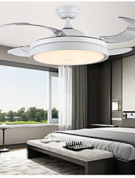 cheap -1-Light 108 cm LED Ceiling Fan Metal Painted Finishes Traditional / Classic / Modern 110-120V / 220-240V