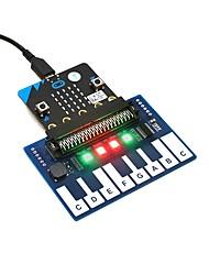Недорогие -wavehare mini piano module для микро: бит сенсорных клавиш для воспроизведения музыки