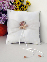 cheap -Terylene Starfish and Seashell Polyester Ring Pillow Pillow All Seasons