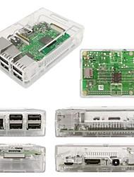 Недорогие -Защитный прозрачный монтажный корпус для Raspberry Pi 3 модель B