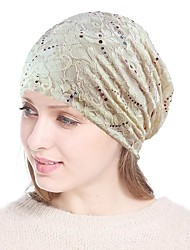 cheap -Lace / Rhinestone Headwear / Headdress with Glitter / Sided Hollow Out 1 Piece Wedding / Party / Evening Headpiece
