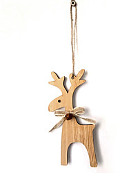 cheap -Ornaments Wood 1 Piece Christmas