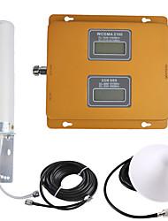 Недорогие -gsm / 3g усилитель сигнала повторителя сигнала мобильного телефона 900/2100 двойной диапазон