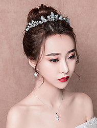 cheap -Queen Elizabeth Jewelry Set Head Jewelry Drop Earrings Tiaras 1950s Elegant Other Material Silver Plated Silver-Plated Alloy For Party Evening Prom Wedding Party Women's Girls' Costume Jewelry