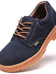 Недорогие -защитные ботинки для безопасности на рабочем месте поставки анти-резка дышащая защита от наводнений анти-пирсинг износостойкие антистатические масла устойчивы к кислотам и щелочам