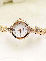 cheap -Women's Dress Watch Wrist Watch Quartz Gold New Design Casual Watch Analog Ladies Elegant Minimalist - Gold