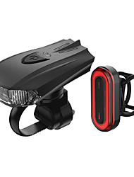 cheap -LED Bike Light Rechargeable Bike Light Set Rear Bike Tail Light Safety Light Mountain Bike MTB Bicycle Cycling Waterproof Super Brightest Portable Quick Release Rechargeable Li-Ion Battery USB 1000 lm