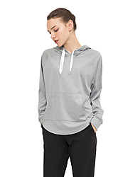 cheap -BIGTREE Women's Yoga Top Asymetric Hem Solid Color Black Grey Zumba Yoga Tee / T-shirt Hoodie Sport Activewear Lightweight Breathable Sweat-wicking Micro-elastic