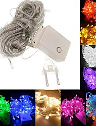 cheap -BRELONG Waterproof 10 Meters 100LED 8 Patterns Holiday Decoration Light String European Regulations 1 pc